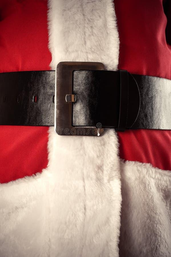 Santa Claus-Gurt lizenzfreies stockfoto