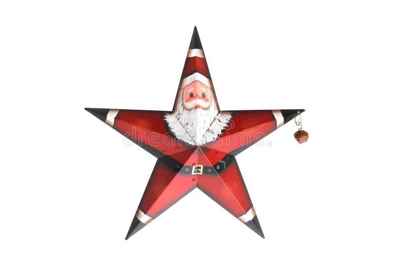 Santa claus gwiazda zdjęcia stock