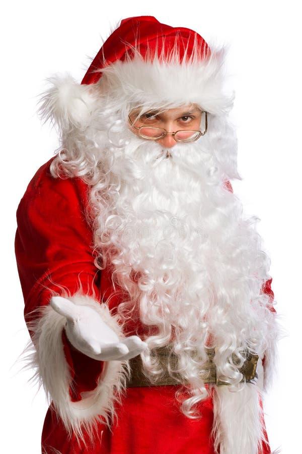 Santa Claus ha isolato fotografia stock libera da diritti