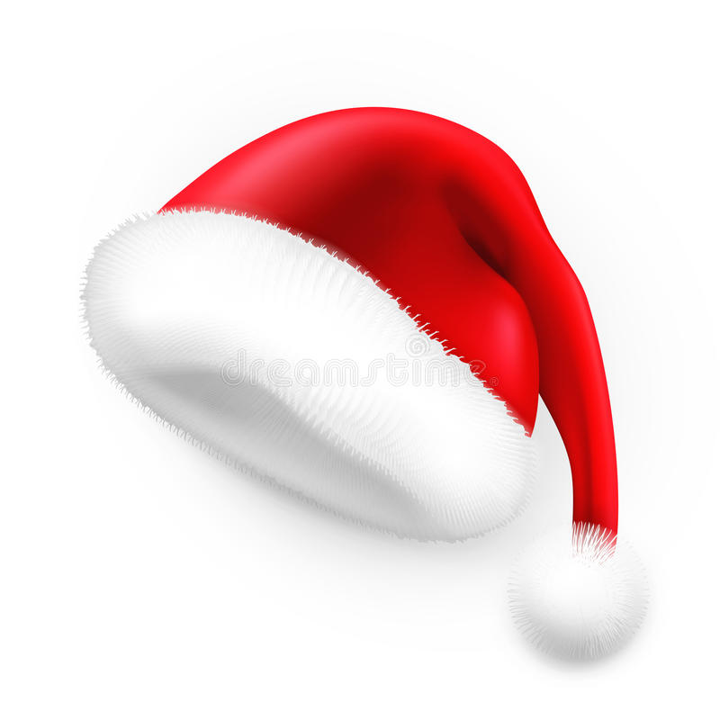 Santa Claus hat royalty free illustration