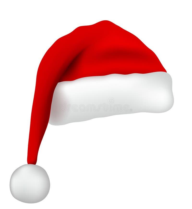 Santa Claus hat royalty free illustration