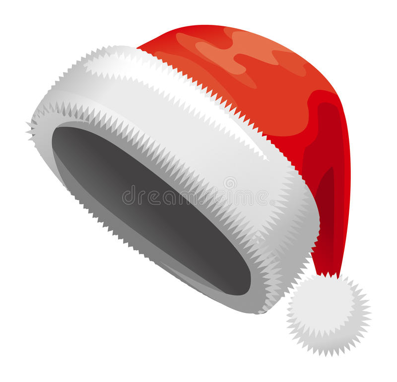 Download Santa Claus hat stock vector. Image of background, cartoon - 28068564