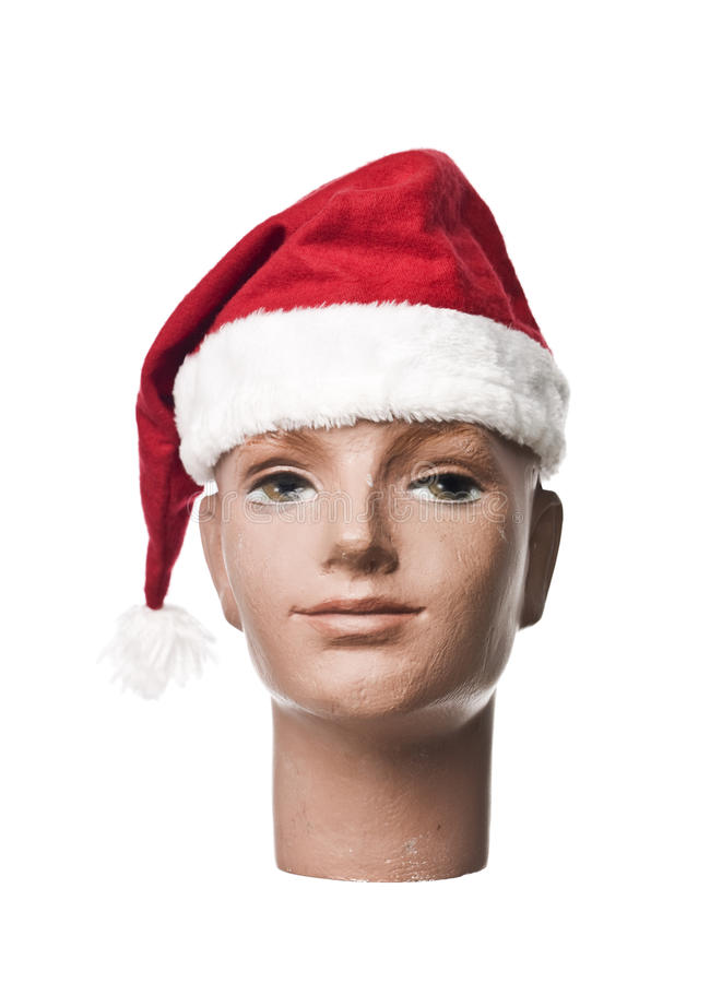 Download Santa claus hat on a doll stock photo. Image of image - 11352916