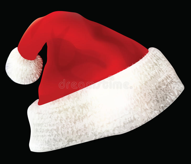 Santa Claus Hat Royalty Free Stock Photos