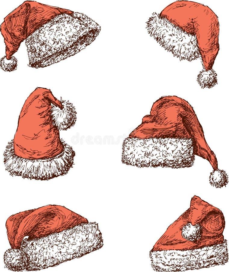 Free Santa Claus Hats Royalty Free Stock Photos - 46847398