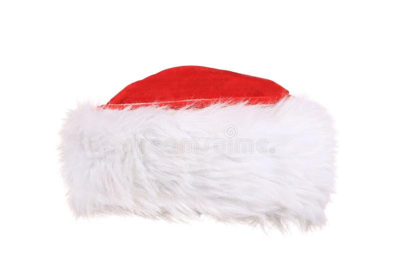 Santa Claus hatt arkivbild