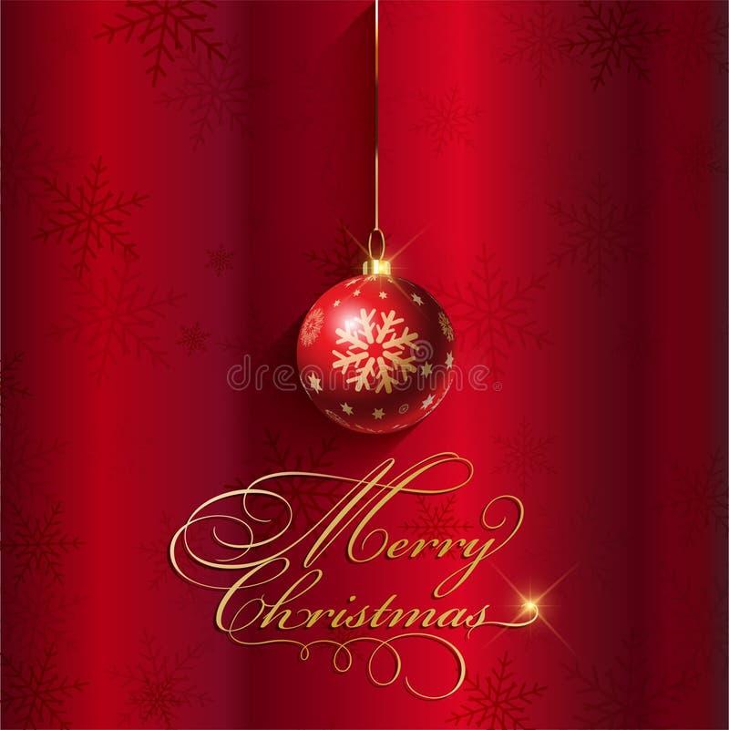 Santa Claus hatt med treebollar vektor illustrationer