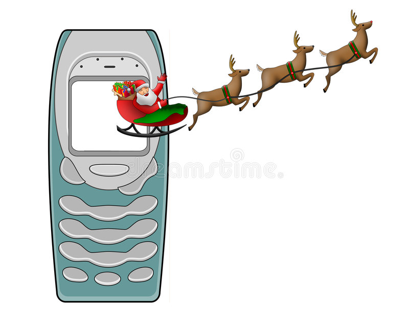 Download Santa Claus In His Sleigh Stock Images - Image: 3464014