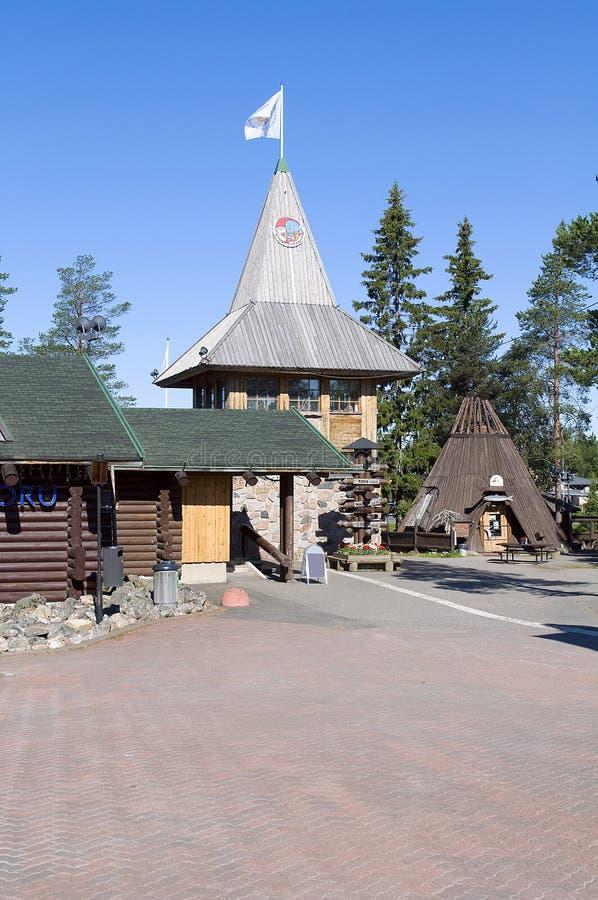 Free Santa Claus Holiday Village. Stock Images - 34723664