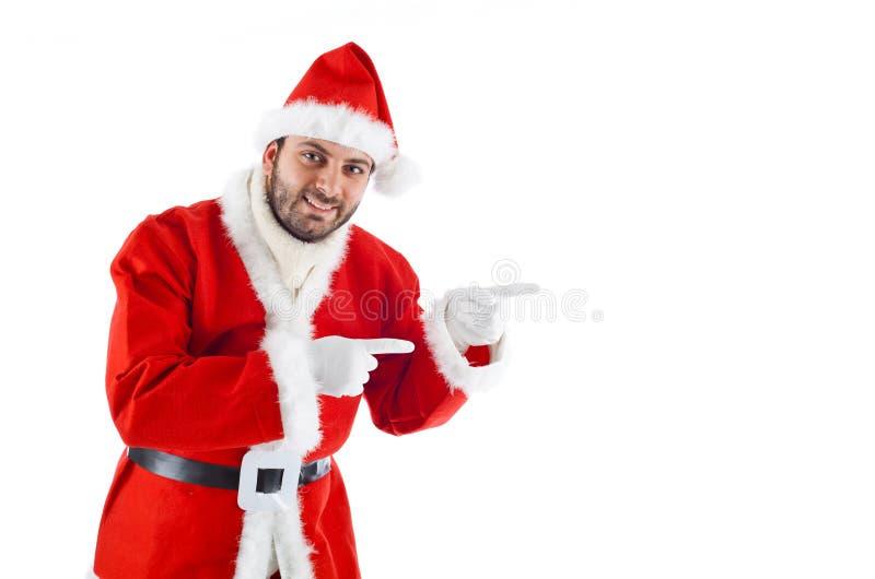 Santa Claus joven fotografía de archivo