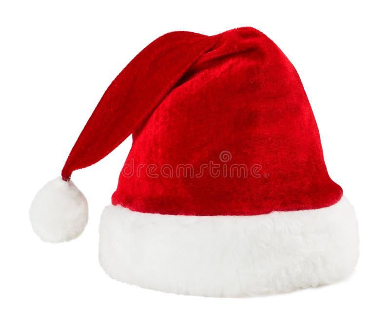 Santa Claus kapelusz obraz stock