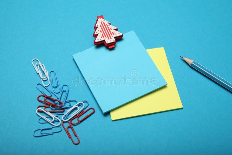 Santa Claus letter, christmas list.  royalty free stock photos