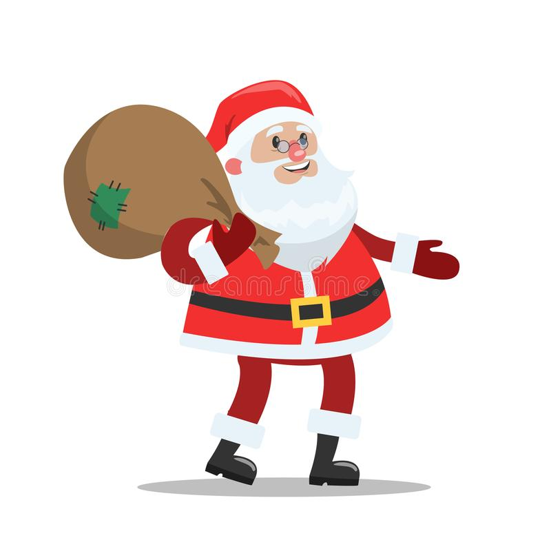 Santa Claus linda divertida libre illustration