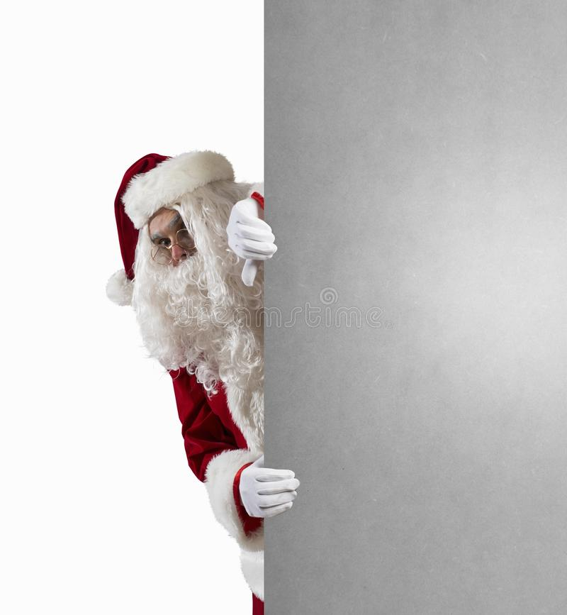 Download Santa Claus With Message Stock Photos - Image: 34063543