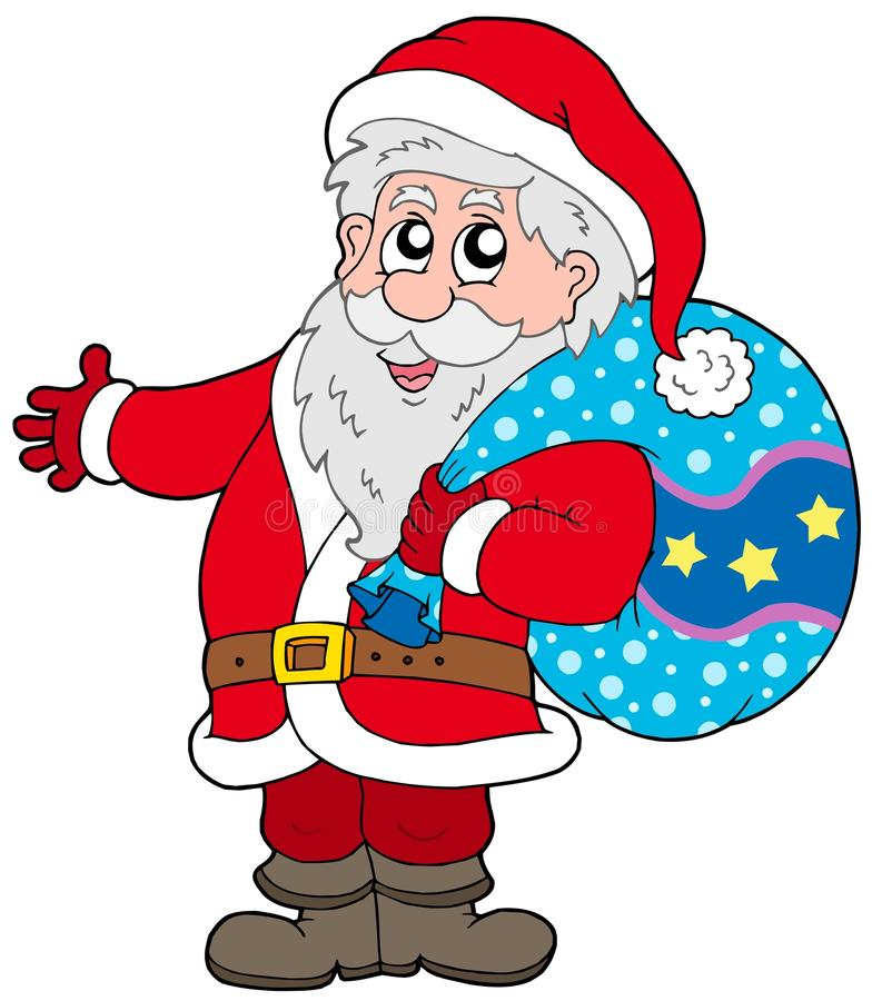 Download Santa Claus With More Gifts Stock Vector - Image: 11179570