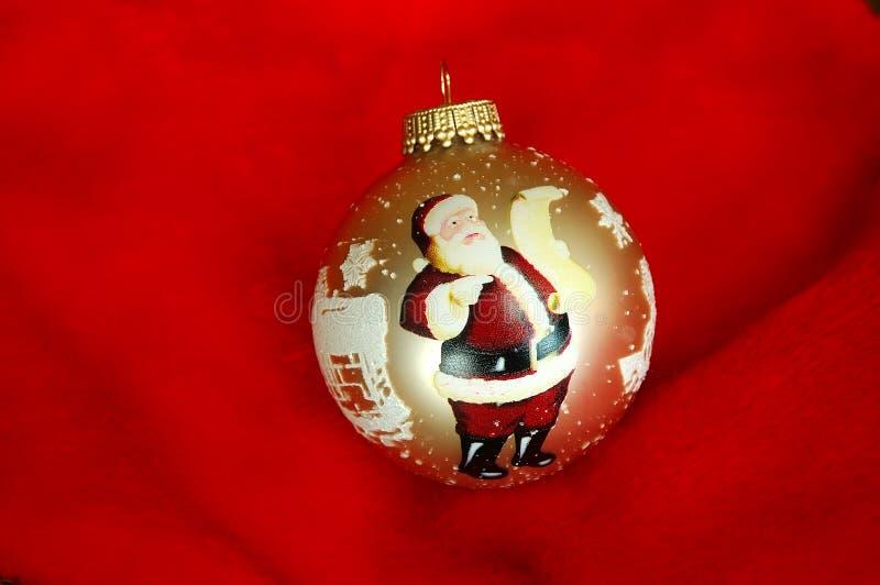 Santa Claus Ornament royalty free stock photos