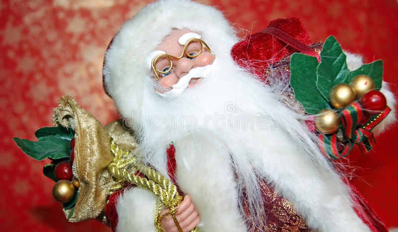 Download Santa Claus portrait stock photo. Image of white, year - 28154294