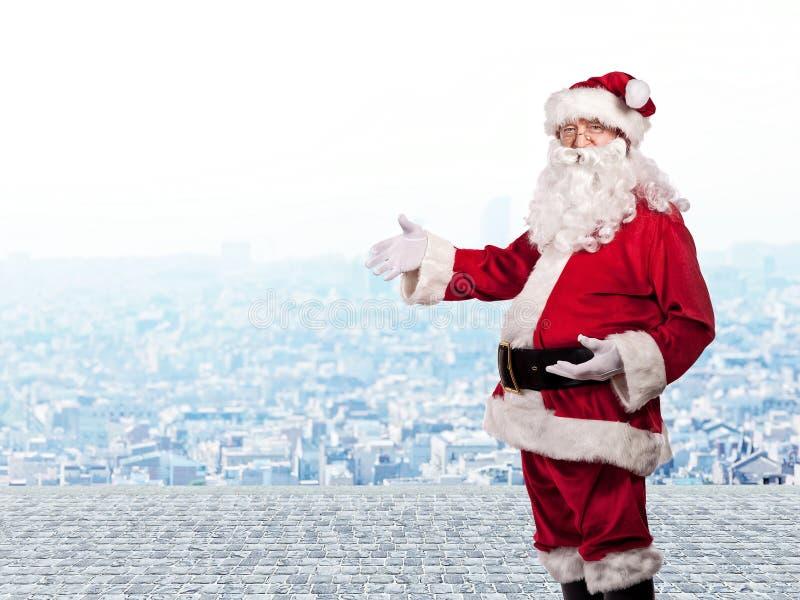 Santa claus portrait royalty free stock photos