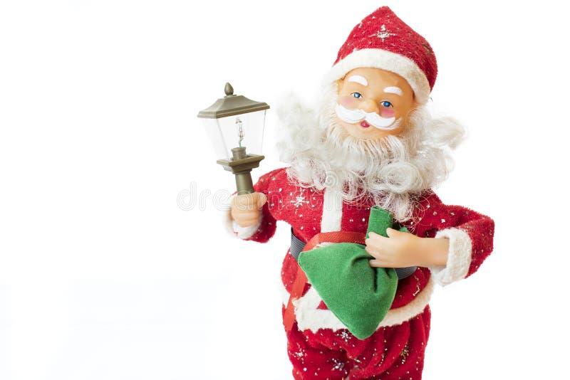 Santa claus prezenty obrazy royalty free