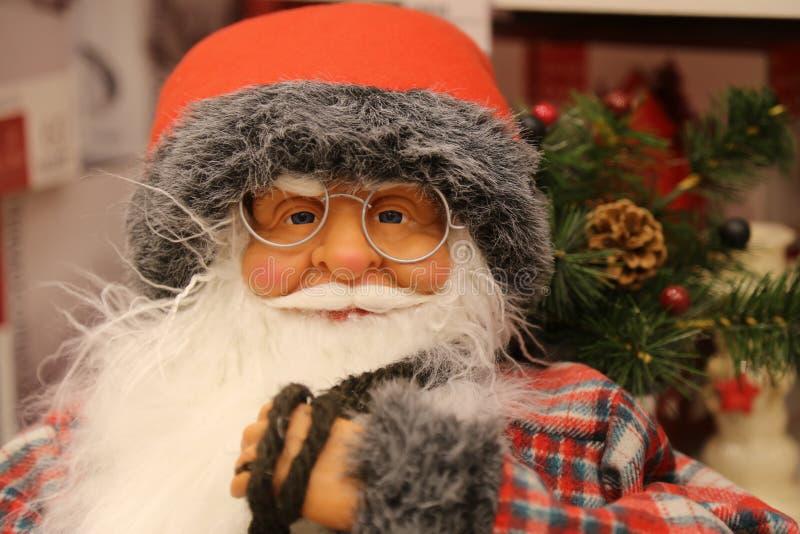Santa Claus que vem logo imagem de stock royalty free