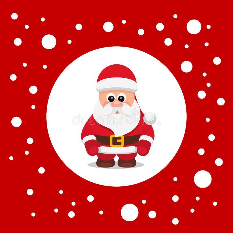 Santa Claus Red royaltyfri illustrationer