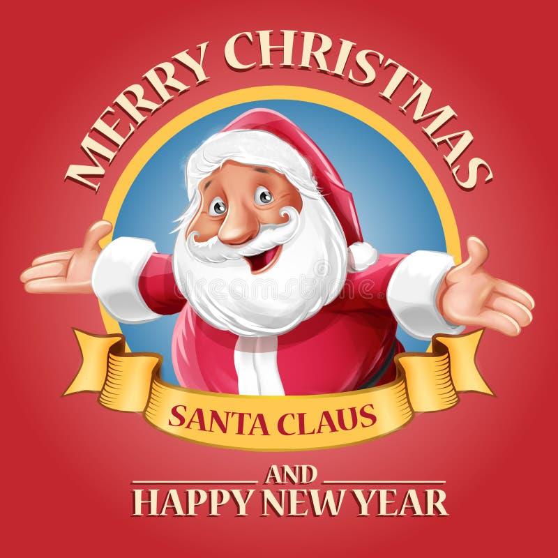 Santa Claus Red ilustração royalty free