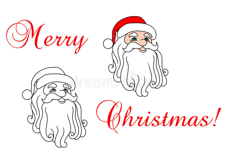 Download Santa Claus In Red Hat Stock Photo - Image: 33855830