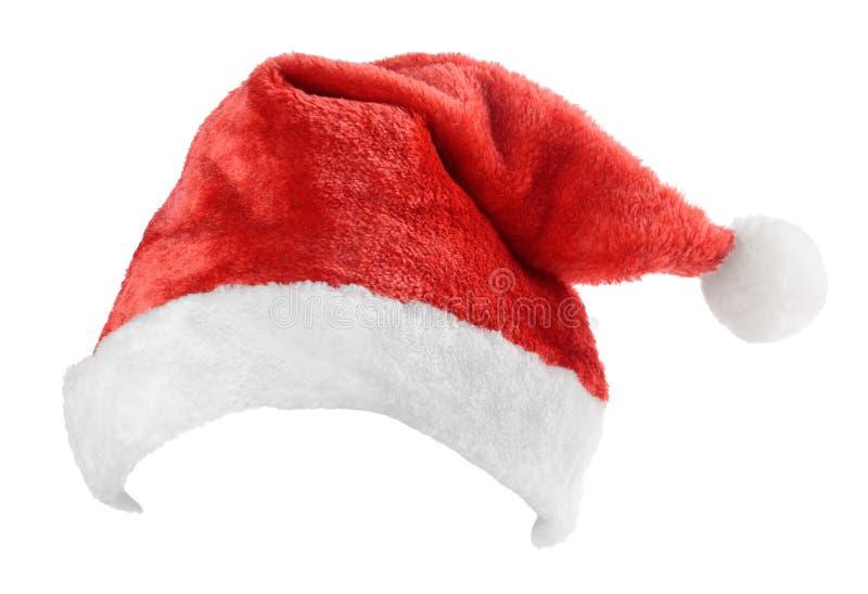 Santa Claus red hat stock image