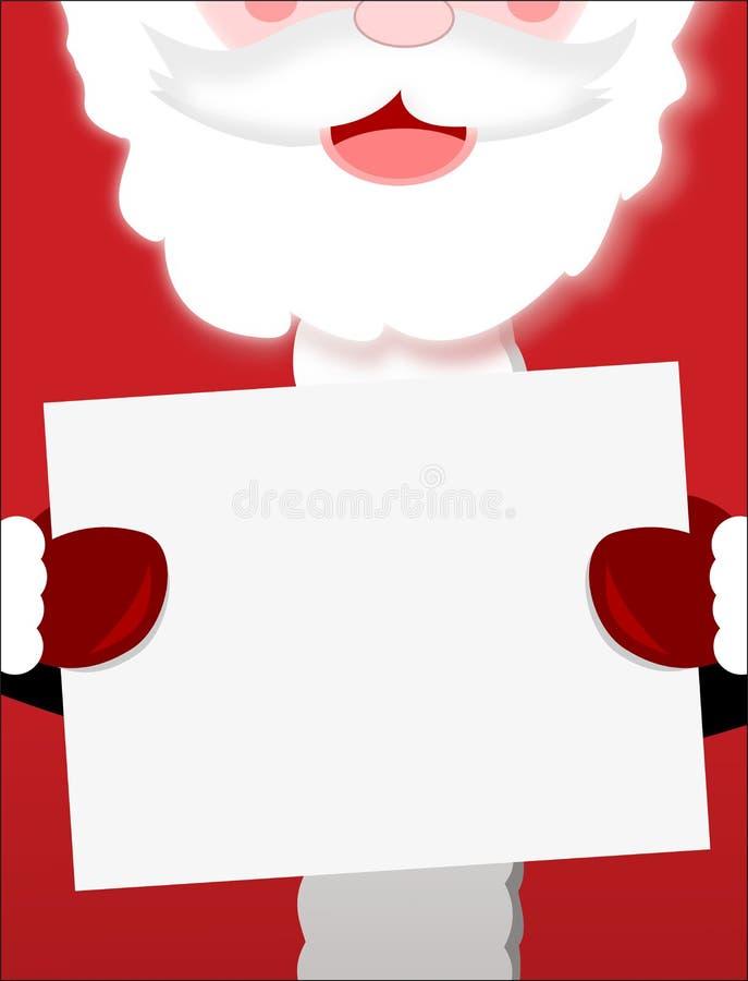 Download Santa Claus Sign Closeup stock illustration. Image of illustration - 21768322