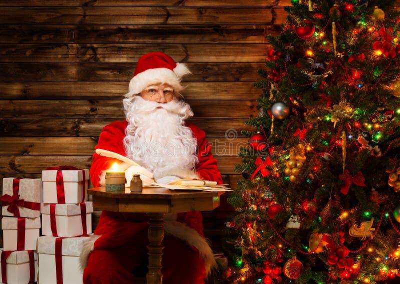 Santa Claus Sitting On Rocking Chair Stock Photos Image