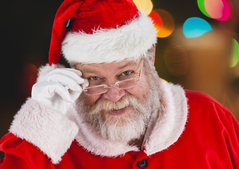 Santa claus smiling stock image