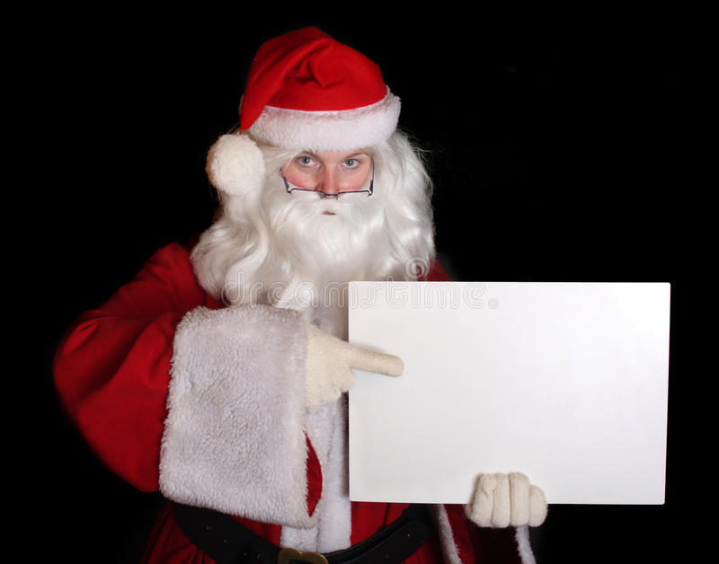 Download Santa Claus teacher stock photo. Image of blue, notice - 10946316