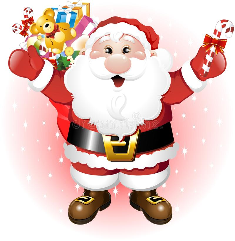 Download Santa Claus With Toys Royalty Free Stock Photos - Image: 16667868