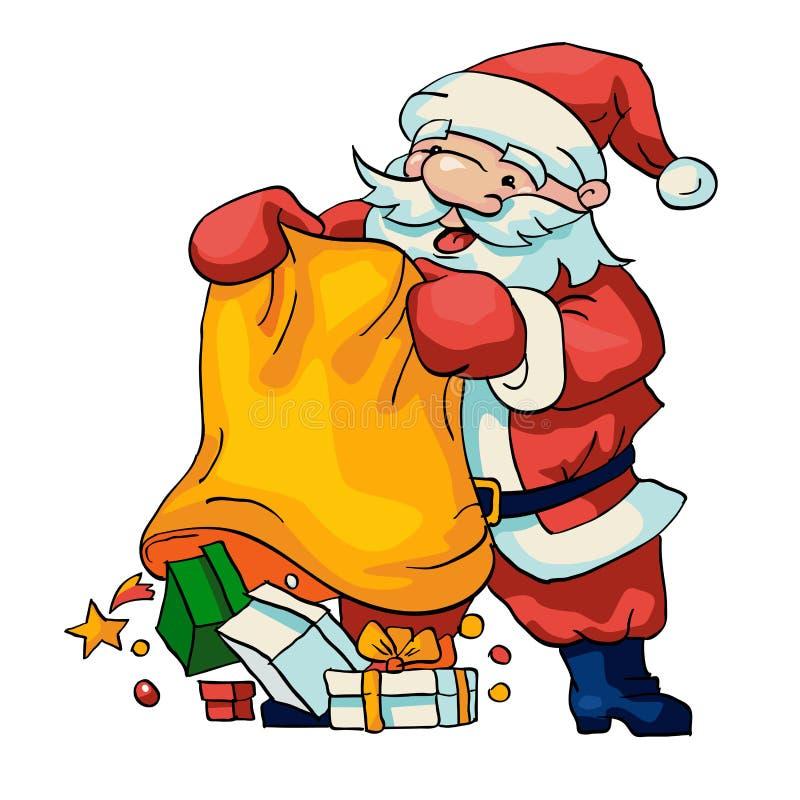 Download Santa Claus stock vector. Illustration of christmas, human - 33500674