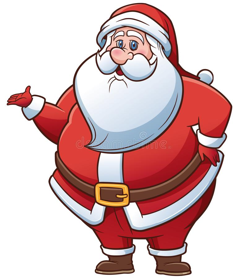 Santa Claus. Vector Illustration of Cartoon Santa Claus vector illustration