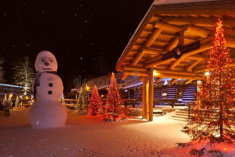 Santa Claus Village fotos de stock
