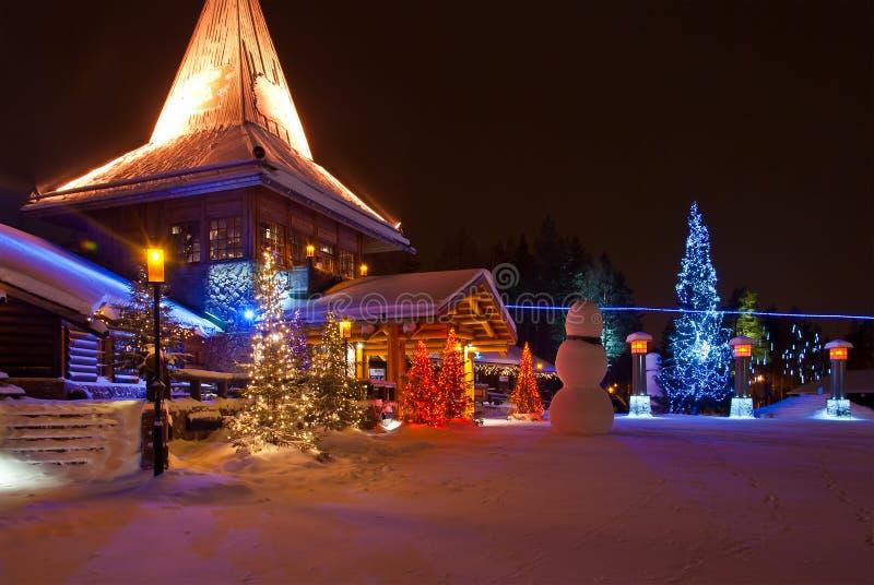Santa Claus Village fotografia de stock royalty free