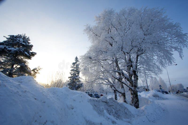 Santa Claus Village, Finland stock foto's
