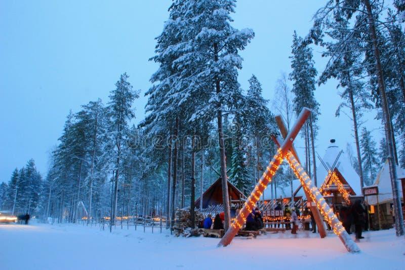 Santa Claus Village royalty free stock photo
