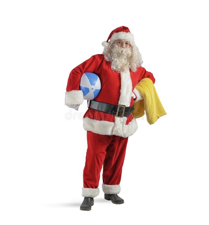 Santa Claus wakacje fotografia royalty free
