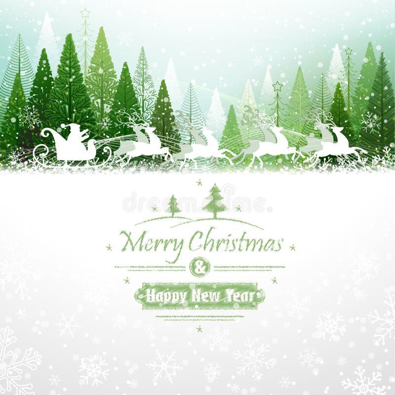 Free Santa Claus With Reindeer Royalty Free Stock Photos - 35995658