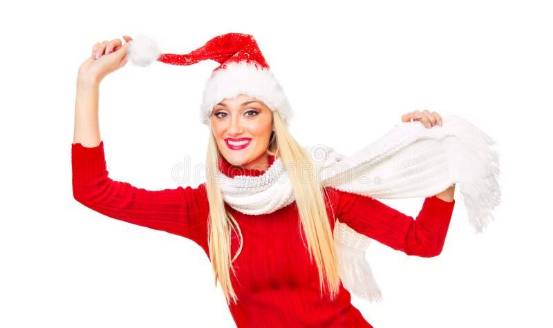 Download Santa claus woman stock image. Image of girl, christmas - 27902133