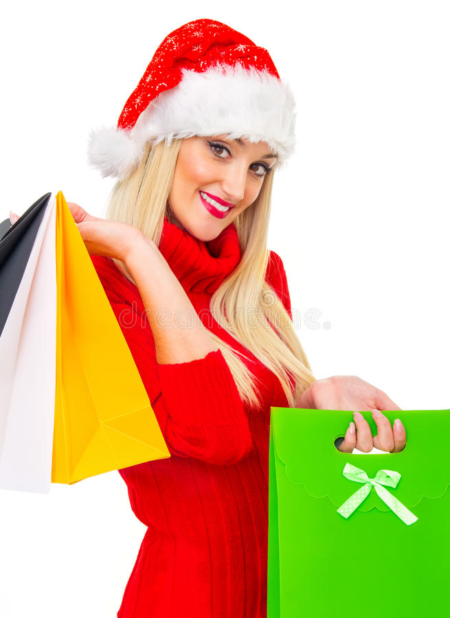 Download Santa Claus Woman Royalty Free Stock Photo - Image: 27902635