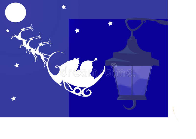 Santa clause royalty free illustration