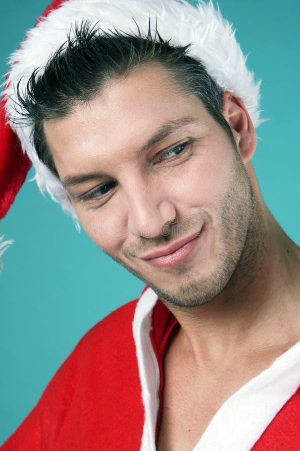 Santa clause. X-mas portrait royalty free stock photos