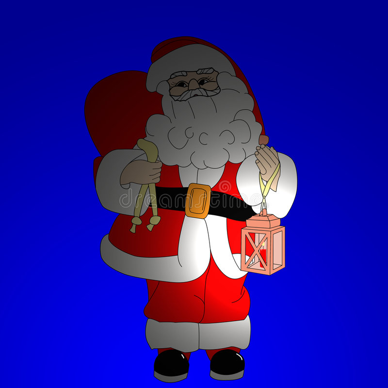 Download Santa clause stock illustration. Image of claus, picture - 7390632