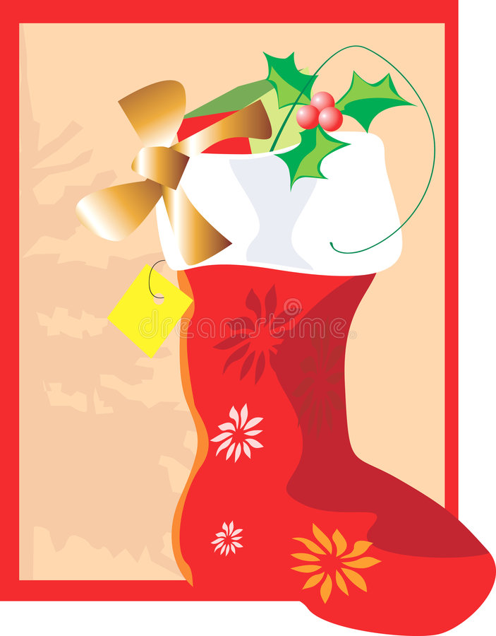 Free Santa Clause Boot Stock Image - 3229501