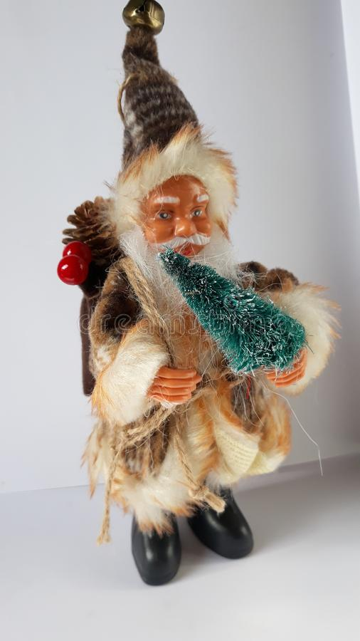 Santa clause - Christmass. Picture of toy santa clause stock photo