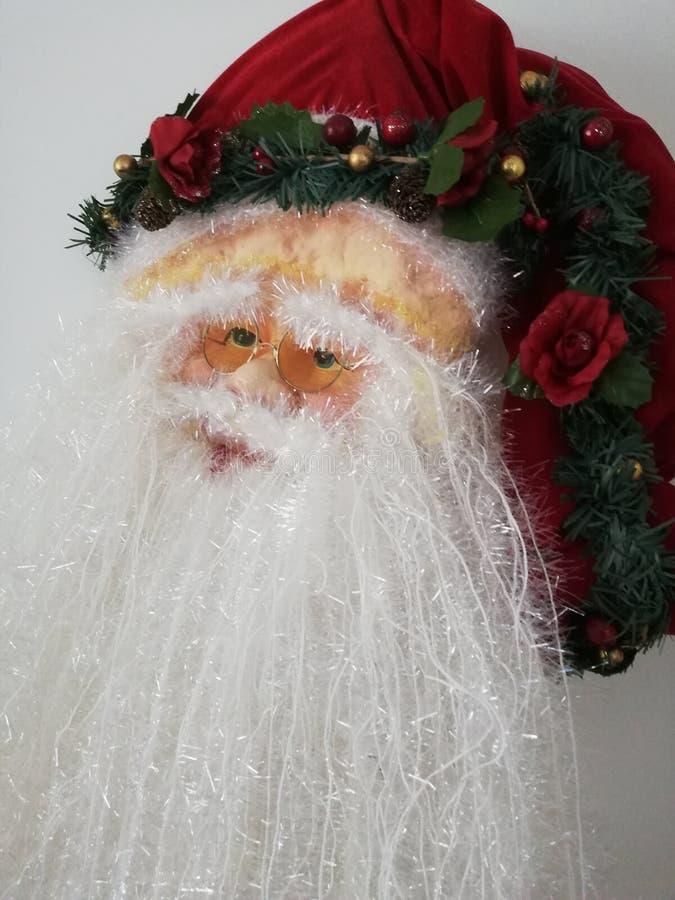 Santa Clause, heure de Noël photographie stock libre de droits