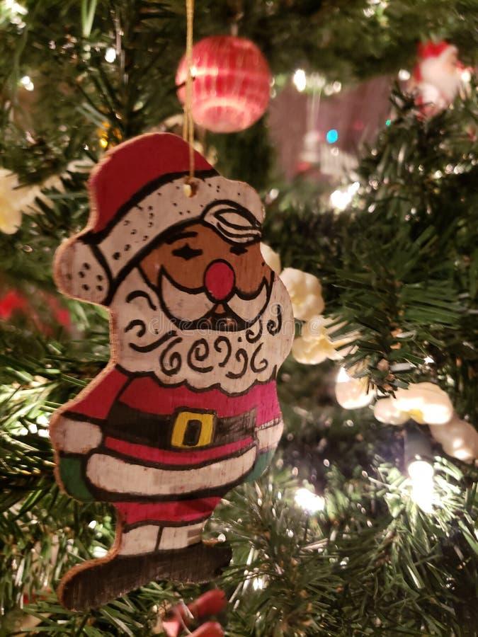 Santa clause ornament royalty free stock photos